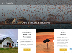enjoyingdelta bloc Casetes del Delta