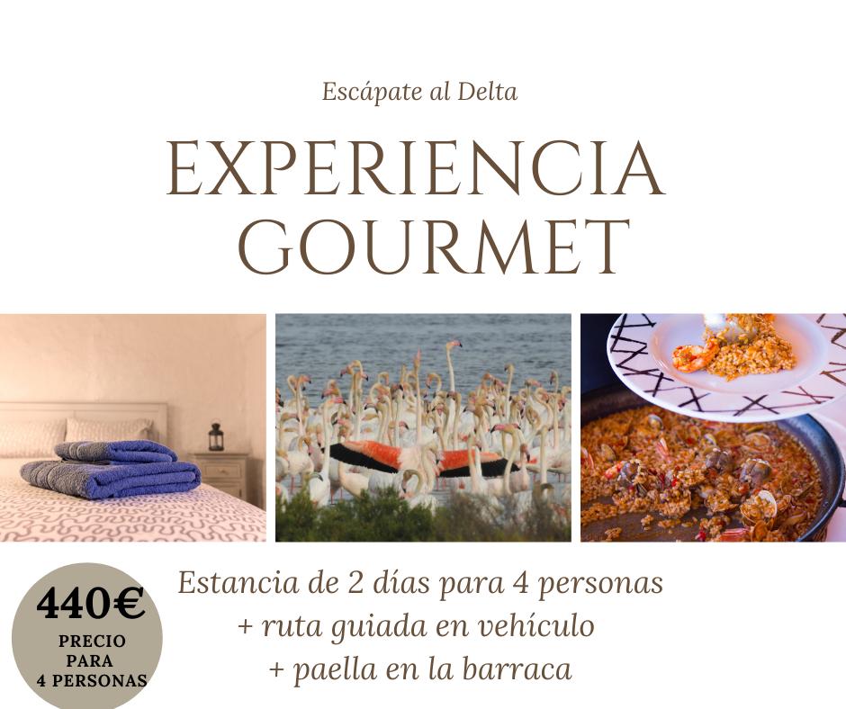 Experiencia Gourmet Cases del Delta
